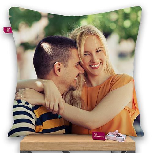 Personalized Your Image Satin Photo Pillow With Filler